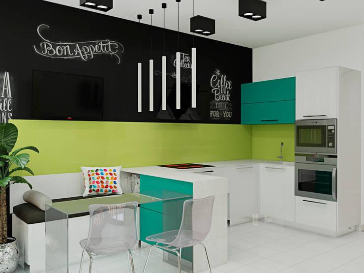 <q class='-first'>Нано-квартира</q>: Кухни в . Автор – 'Лайф Арт'