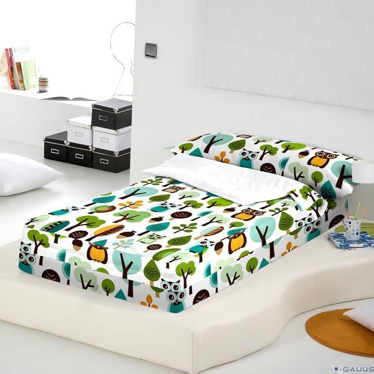 Saco Nórdico Infantil OWLS Naturals: Dormitorios de estilo  de Gauus.es