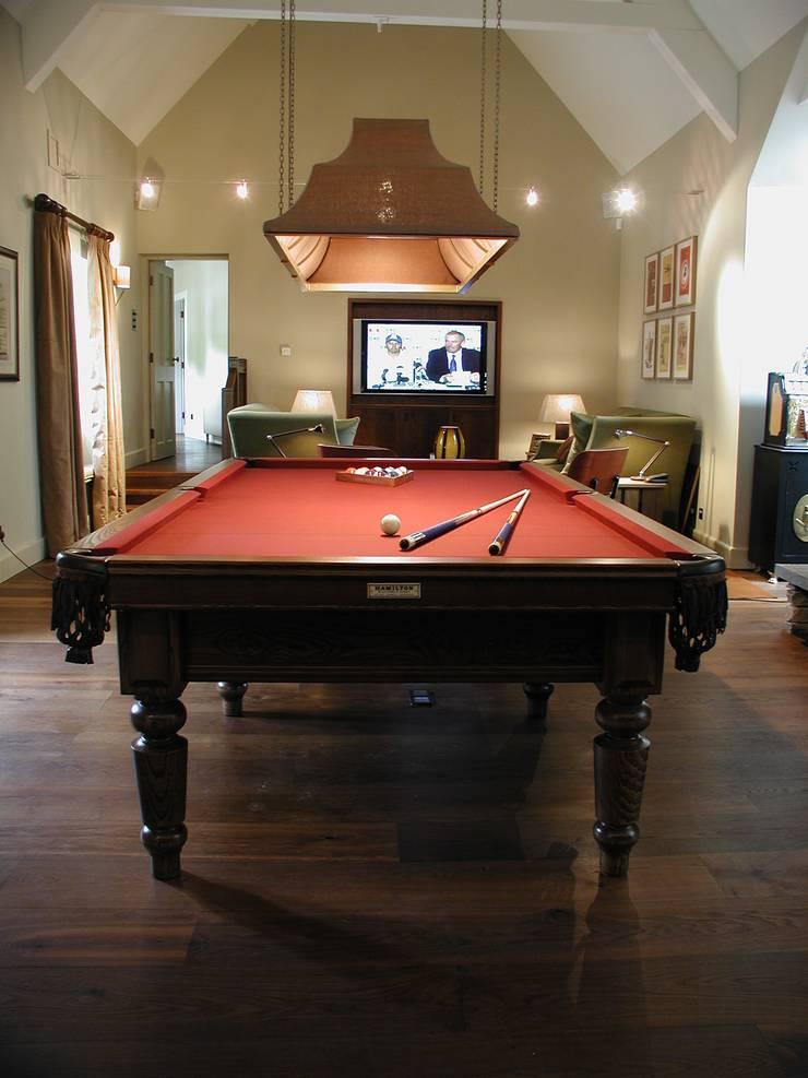 9 ft Watler Snooker/Pool Table:  Dining room by HAMILTON BILLIARDS & GAMES CO LTD