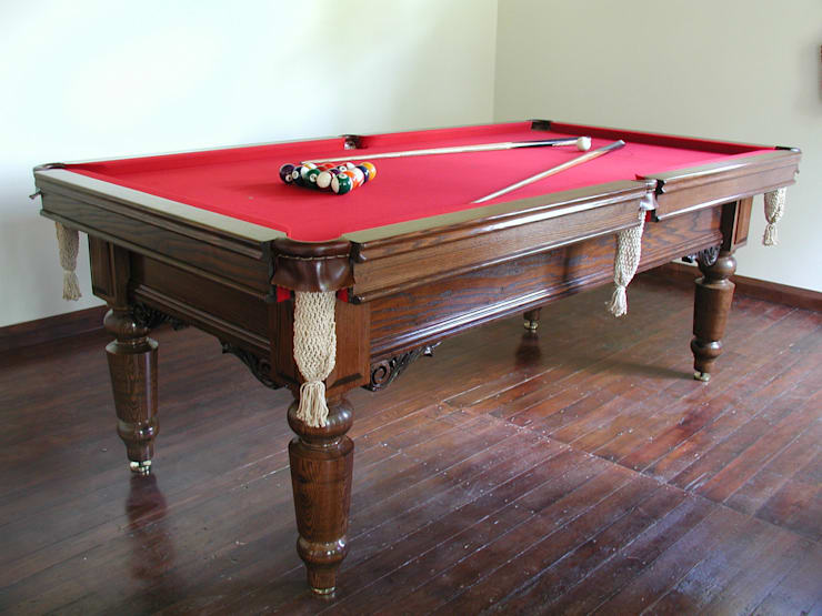 8 ft Watler Snooker/Pool Table:  Dining room by HAMILTON BILLIARDS & GAMES CO LTD