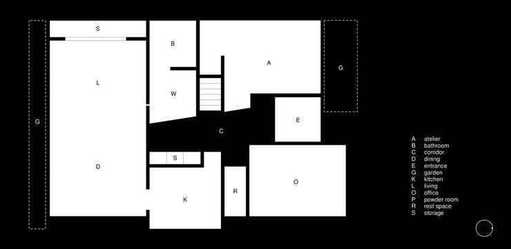 House for Installation: Jun Murata       JAMが手掛けたです。