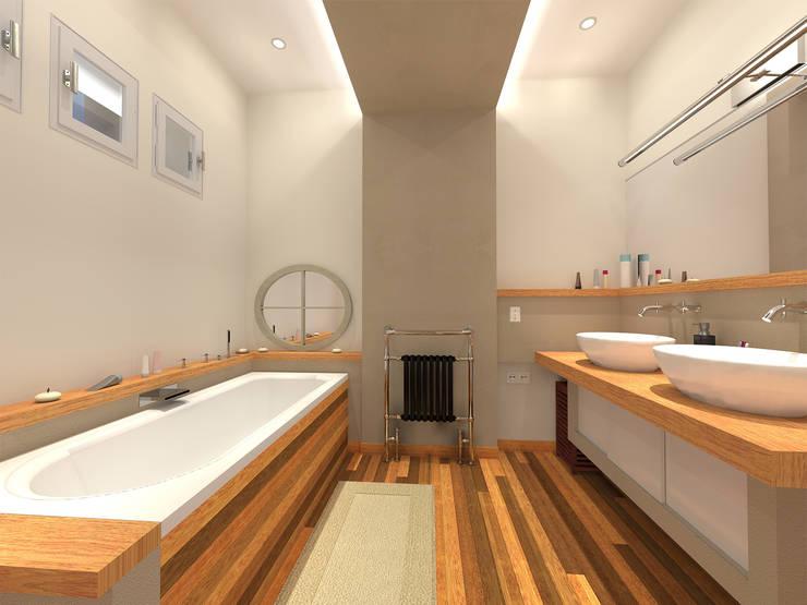 Salle de bain: Salle de bains de style  par ARtchidesign