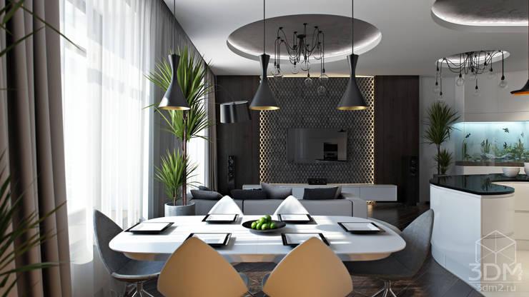 04: Столовые комнаты в . Автор – студия визуализации и дизайна интерьера '3dm2'