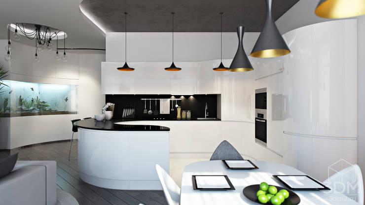 05: Столовые комнаты в . Автор – студия визуализации и дизайна интерьера '3dm2'