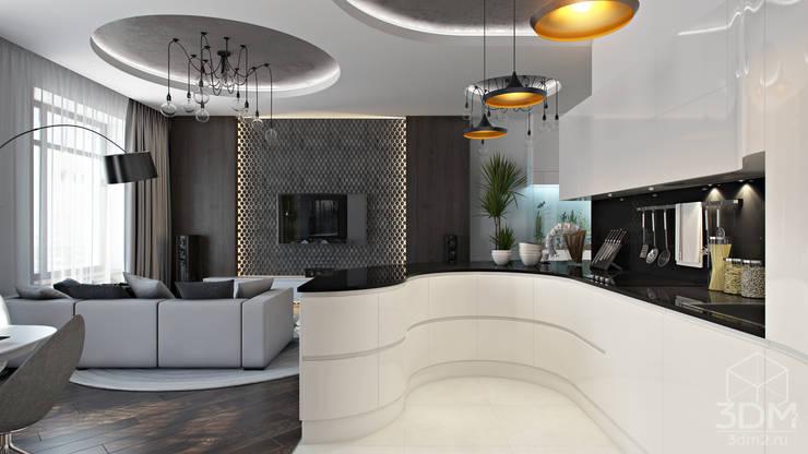 06: Кухни в . Автор – студия визуализации и дизайна интерьера '3dm2'