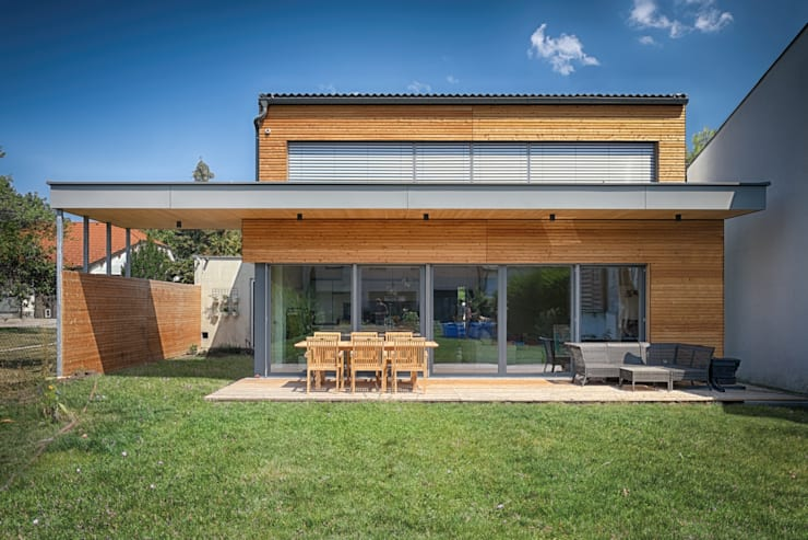 Casas de estilo  por AL ARCHITEKT - Architekten in Wien