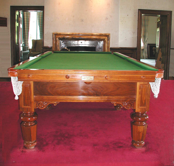 9 ft Demarco Snooker/Pool Table:  Dining room by HAMILTON BILLIARDS & GAMES CO LTD