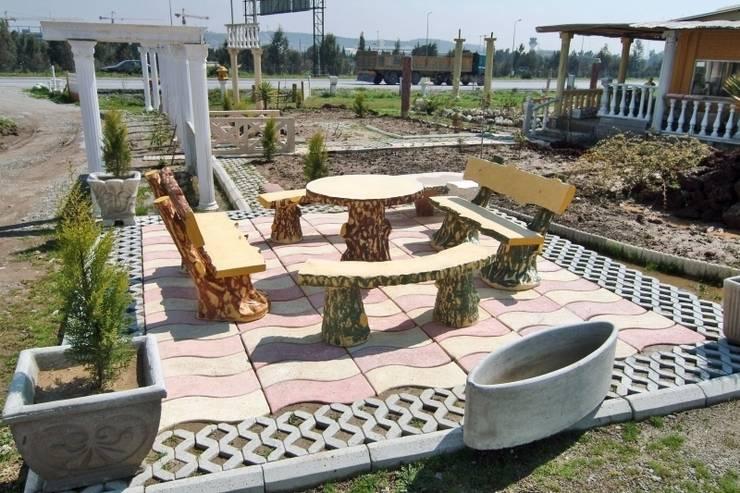 BAHÇE DEKOR Beton Bahçe Elemanları ve Gıda San. Tic. Ltd. Şti. – ÖRNEK GÖRSEL:  tarz Bahçe