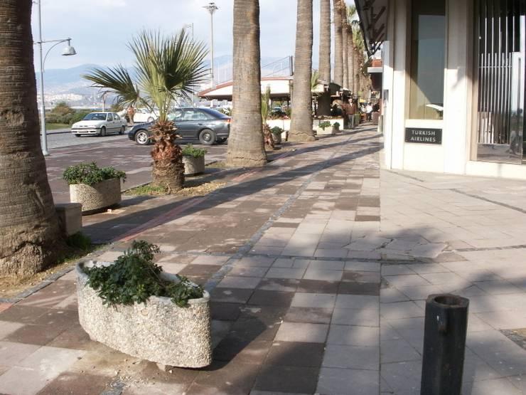 Jardín de estilo  por BAHÇE DEKOR Beton Bahçe Elemanları ve Gıda San. Tic. Ltd. Şti.