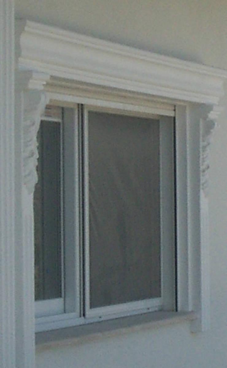 BAHÇE DEKOR Beton Bahçe Elemanları ve Gıda San. Tic. Ltd. Şti. – PREKAST ÇALIŞMASI:  tarz Pencere & Kapılar