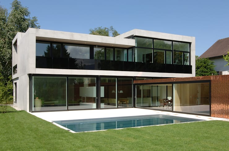 Casas modernas por Früh Architekturbüro ZT  GmbH