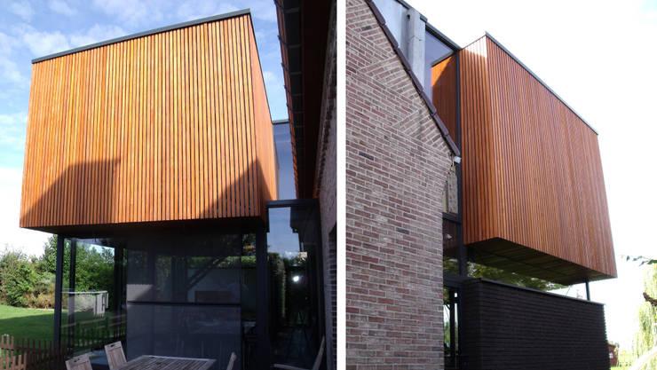 liaisons avec la construction existante:  de style  par VORTEX atelier d'architecture