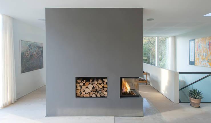 Salas de estar escandinavas por C.F. Møller Architects