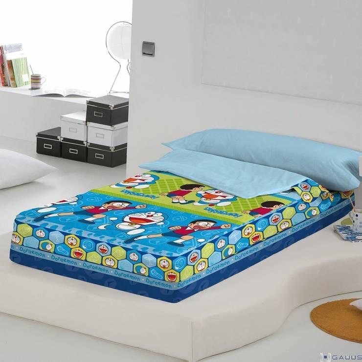 Saco Nórdico Infantil DORAEMON & NOBITA Naturals: Dormitorios de estilo  de Gauus.es