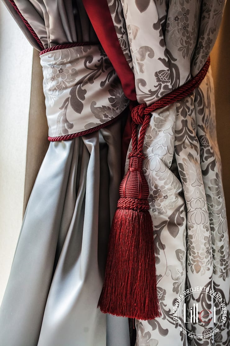 Elementy dekoracji: styl , w kategorii Okna i drzwi zaprojektowany przez ATELIER LILLET Karolina Lewandowska