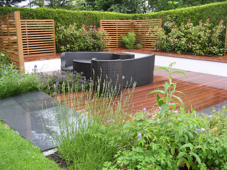 IJLA - Contemporary Garden:  Garden by IJLA