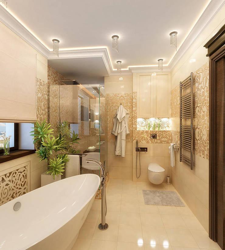Banheiros modernos por INTERIERIUM Moderno
