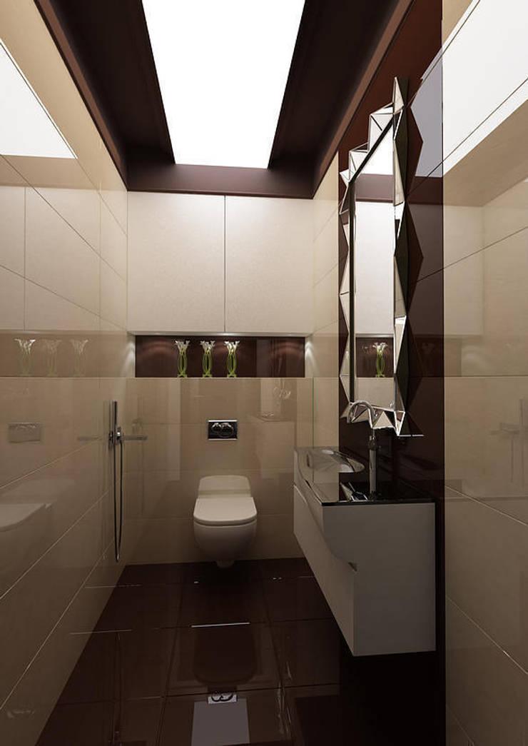 Salle de bain moderne par INTERIERIUM Moderne
