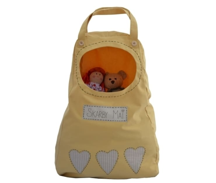 worek w kształcie łezki kolor żółty rozmiar XL: styl , w kategorii Pokój dziecięcy zaprojektowany przez Drewniany Guzik