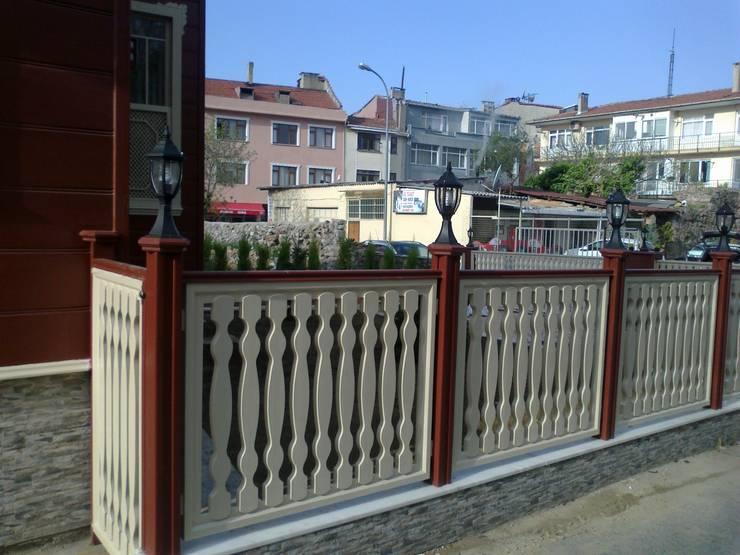 ahsapkorkmaz – korkmaz ahşap çit uylulamaları:  tarz Bahçe