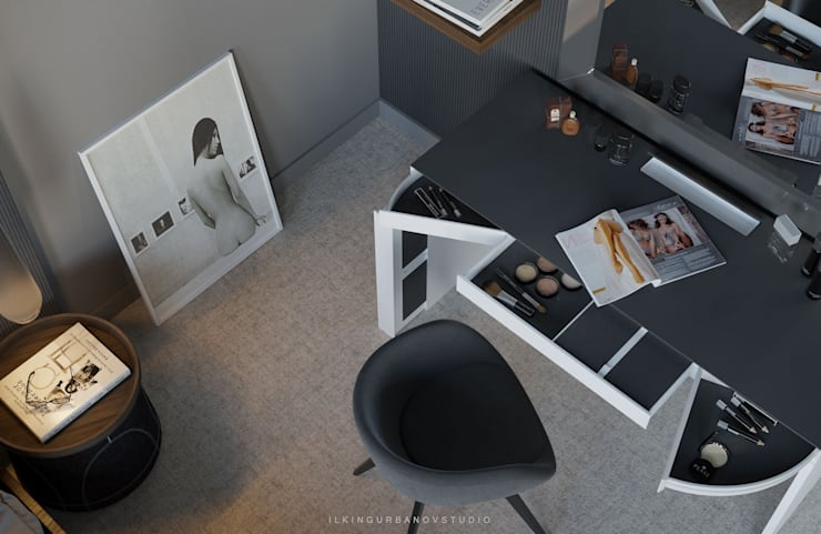 Dormitorios de estilo  de ILKIN GURBANOV Studio