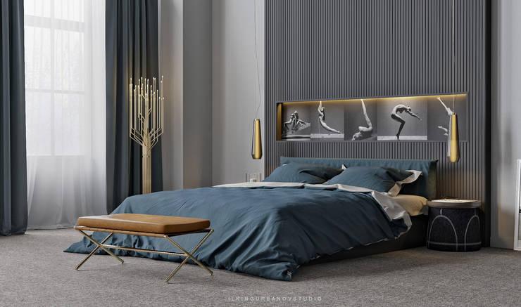 Phòng ngủ phong cách hiện đại bởi ILKIN GURBANOV Studio Hiện đại