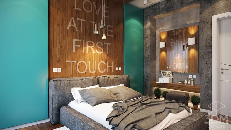 Phòng ngủ by студия визуализации и дизайна интерьера '3dm2'