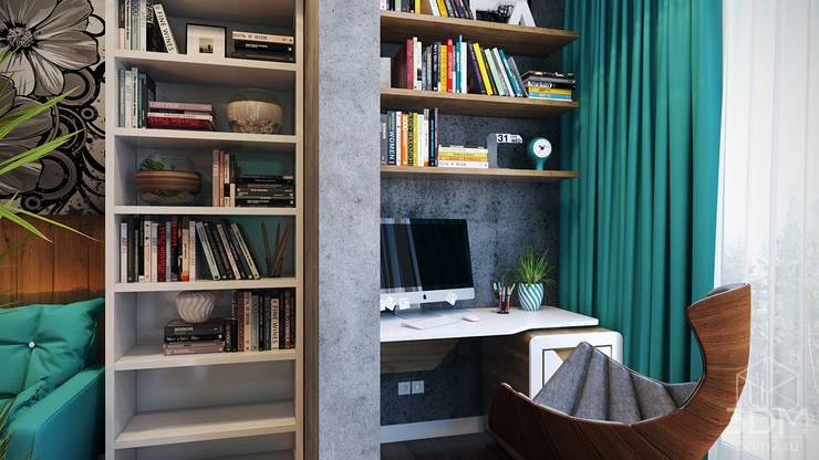 Terrazas de estilo  por студия визуализации и дизайна интерьера '3dm2'