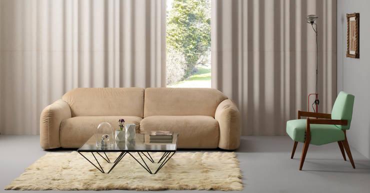 chiffon: Pareti & Pavimenti in stile in stile Moderno di LITHOS DESIGN