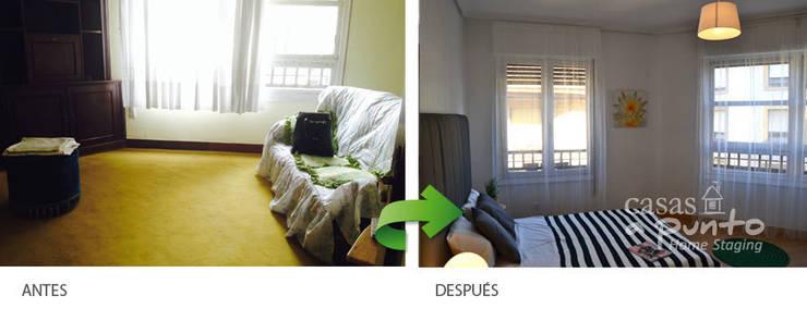 Dormitorio:  de estilo  de Casas a Punto home staging
