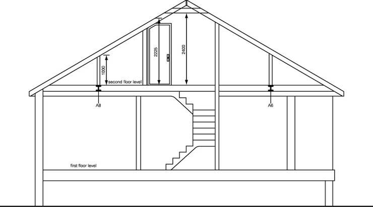 Loft Conversion in Thames Village, Chiswick, London:   by City Lofts London