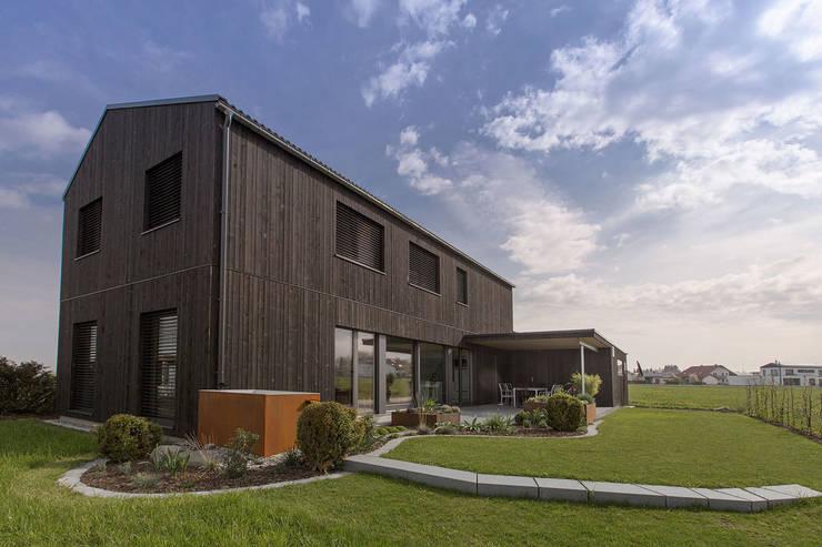 Süd-West Ecke:  Häuser von ku architekten