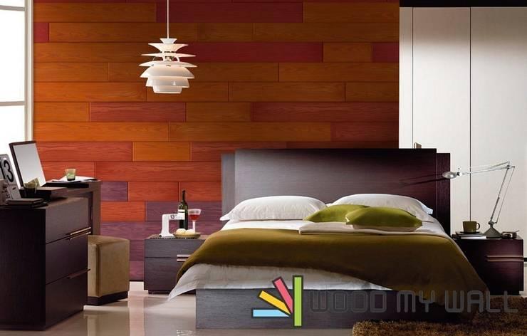 WoodMyWall – WoodMyWall Kendinden Yapışkanlı Duvar Kaplama Panelleri:  tarz Duvarlar, Modern