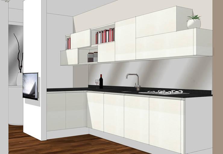 La cucina affacciata sul soggiorno unire o dividere by forme per interni homify - Cucina aperta sul soggiorno ...
