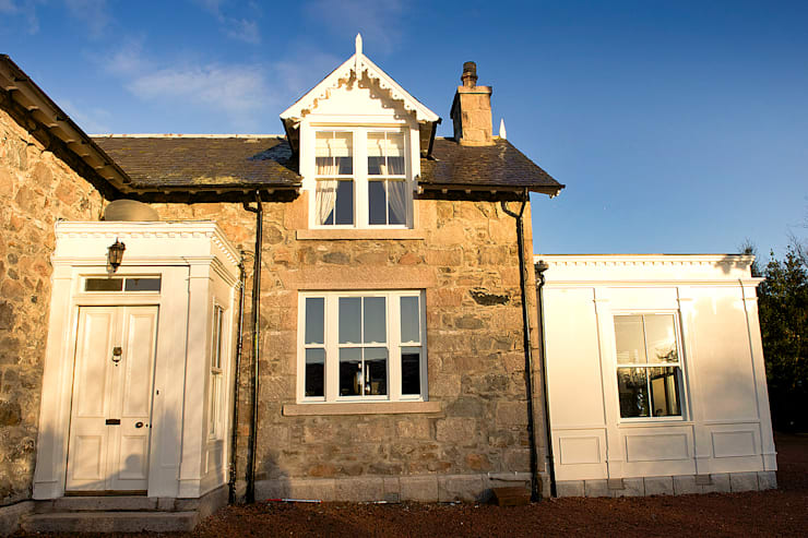Ramsden House, Peterculter, Aberdeen:  Houses by Roundhouse Architecture Ltd