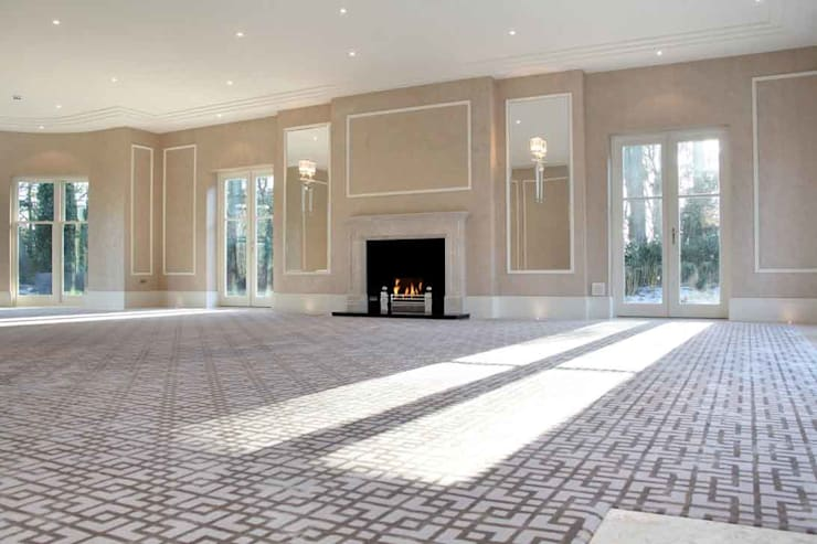 Project 7 Windlesham:  Living room by Flairlight Designs Ltd