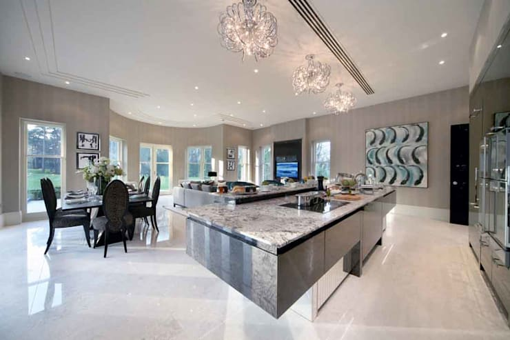 Project 7 Windlesham:  Kitchen by Flairlight Designs Ltd