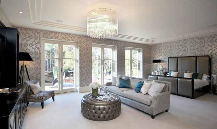 Project 7 Windlesham: modern Bedroom by Flairlight Designs Ltd