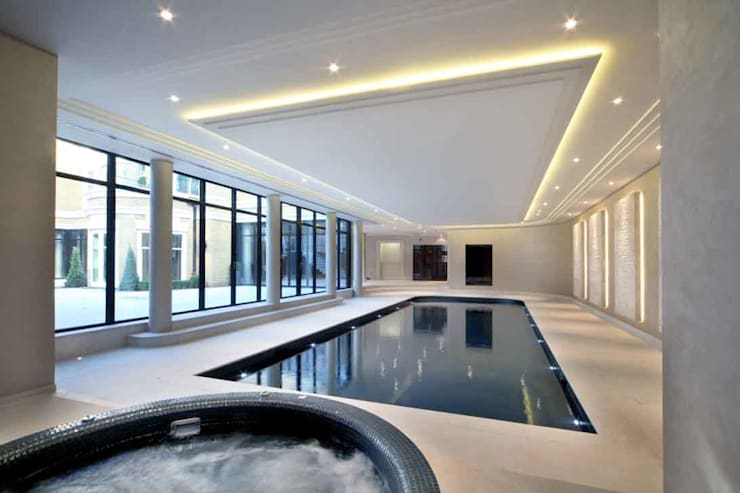 Project 7 Windlesham: modern Pool by Flairlight Designs Ltd
