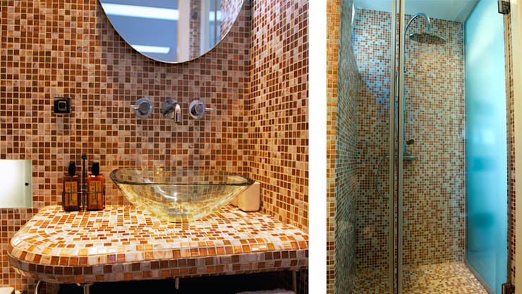 Projects - selection of images: classic Bathroom by Michele Longoni Interiors
