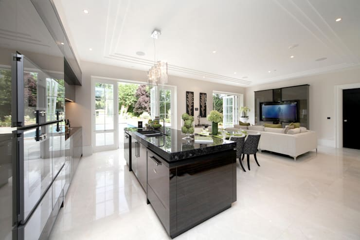 Project 6 Weybridge:  Kitchen by Flairlight Designs Ltd