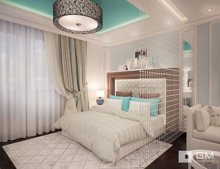 Eclectic style bedroom by GM-interior Eclectic