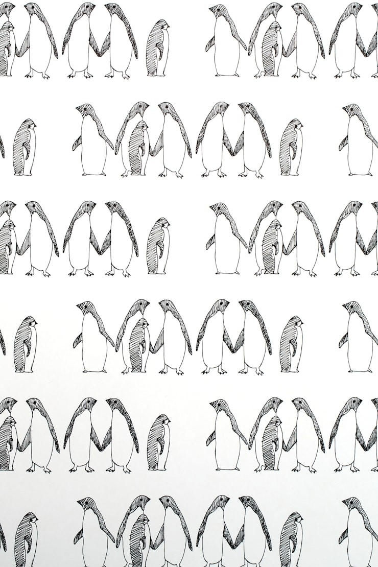 PENGUINS:  Walls & flooring by TURNER POCOCK CAZALET