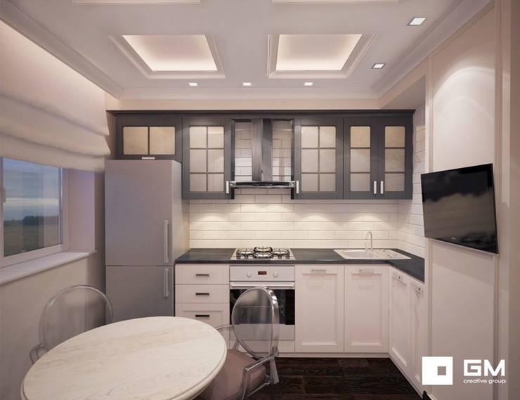 3-х комнатная квартира на ул. Абрамцевская : Кухни в . Автор – GM-interior