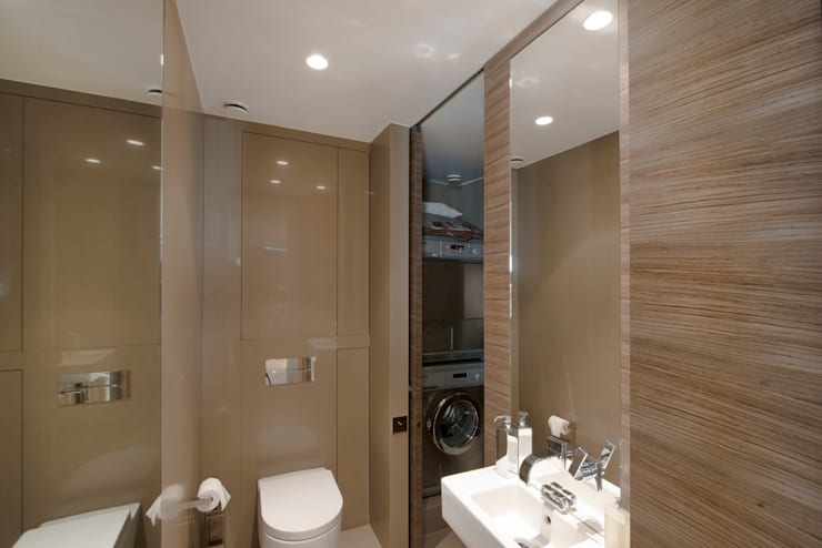 Bathroom by Atelier TO-AU