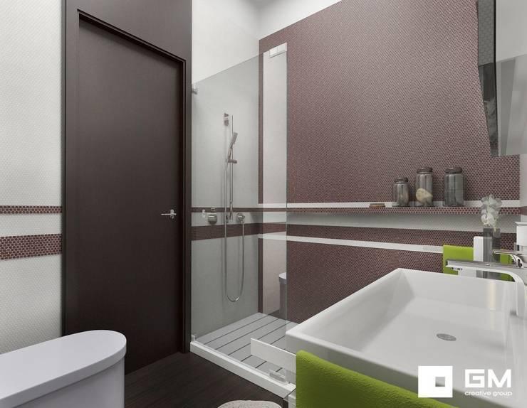 Дизайн интерьера 2-х комнатной квартиры на ул. Лобачевского : Ванные комнаты в . Автор – GM-interior