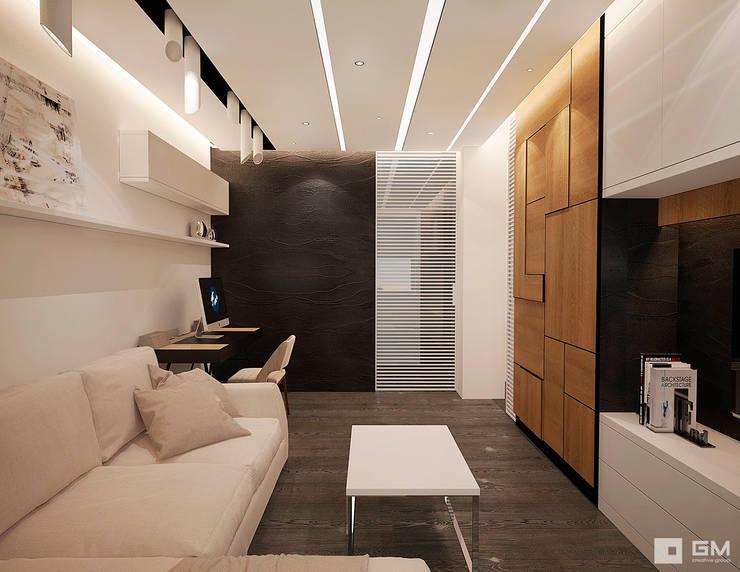 Дизайн интерьера квартиры в г.  Долгопрудный: Гостиная в . Автор – GM-interior