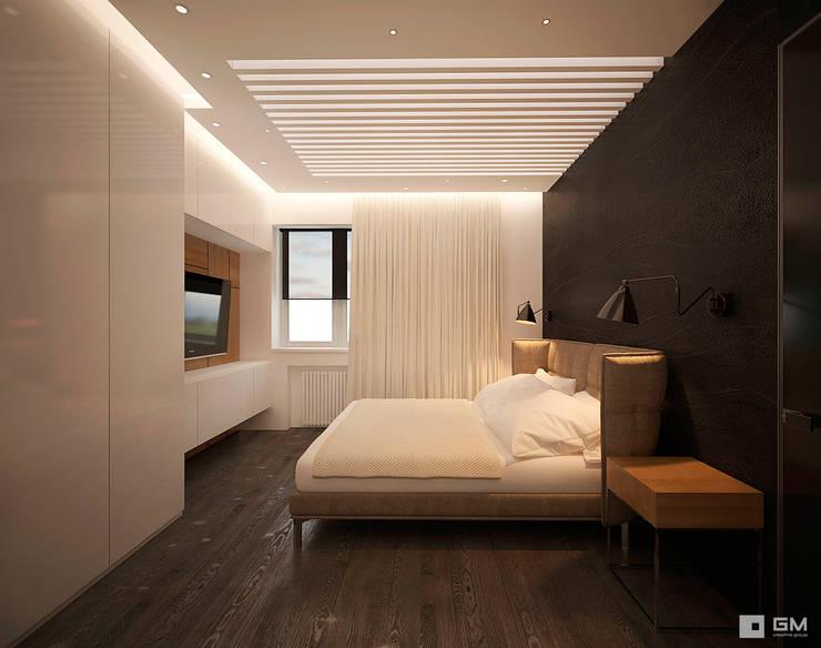 Дизайн интерьера квартиры в г.  Долгопрудный: Спальни в . Автор – GM-interior