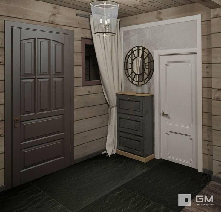 Дизайн интерьера дома в стиле шале : Коридор и прихожая в . Автор – GM-interior