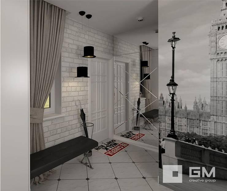 Дизайн интерьера таунхауса в пос. Бристоль 2 : Коридор и прихожая в . Автор – GM-interior